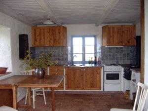 Köket i stenhuset