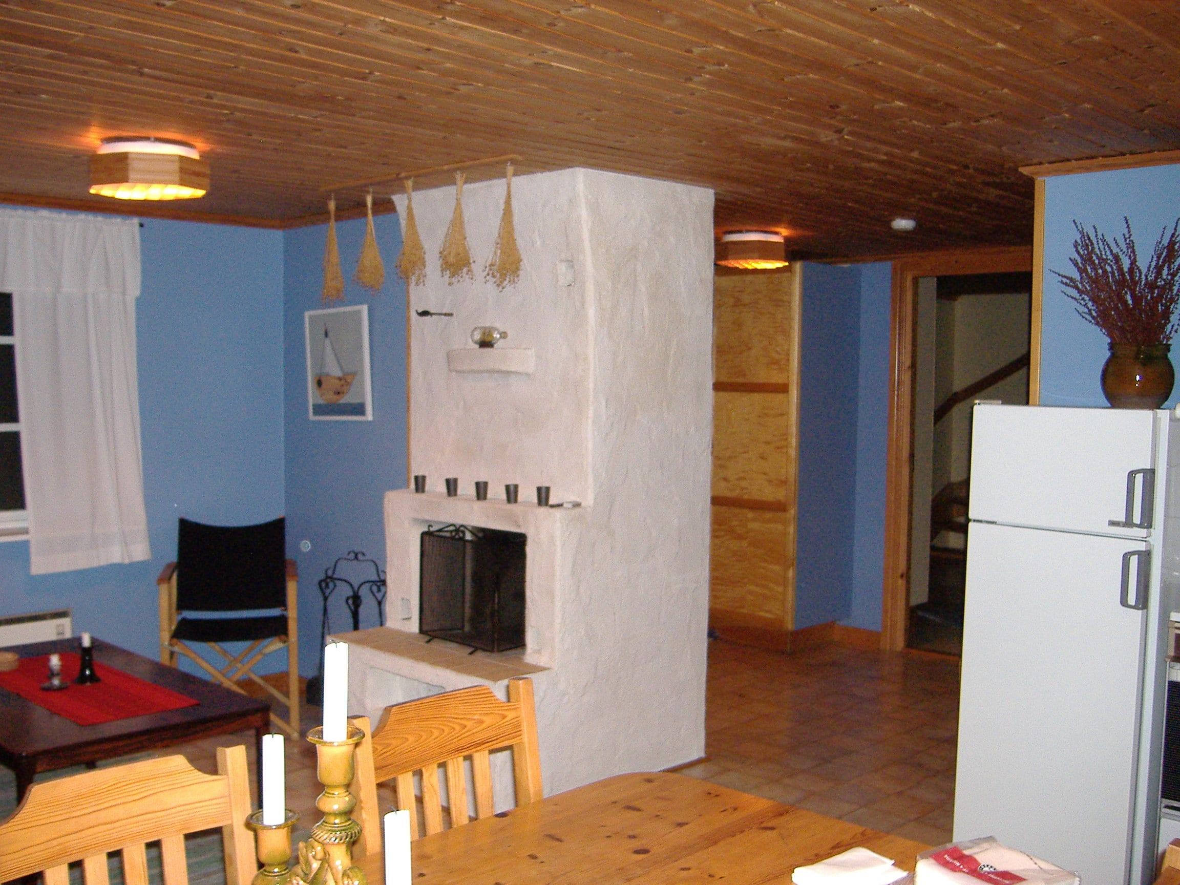 Nybygget, allrum och hall