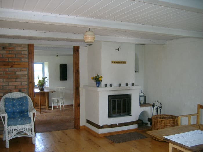 Vardagsrummet i stenhuset